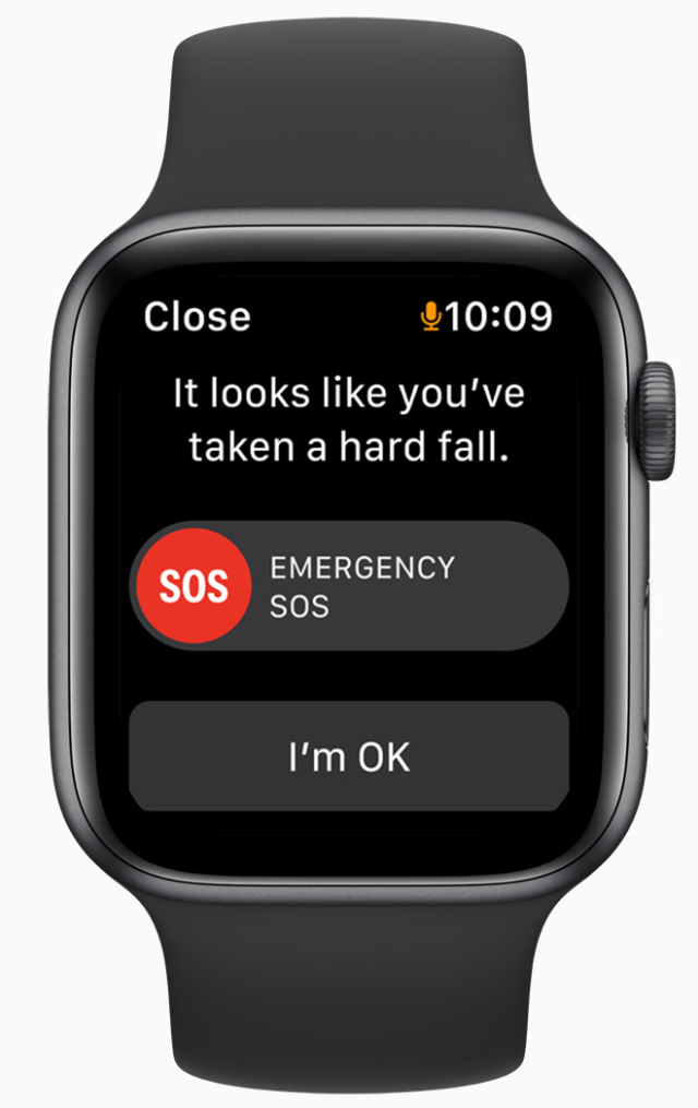 With Emergency SOS, users can quickly and easily call for help and alert emergency services with just a push of a button.