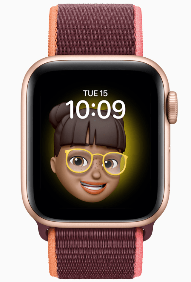The new Memoji app in watchOS 7 lets kids customize messages directly on the Apple Watch, and displays them in the new Memoji dial.