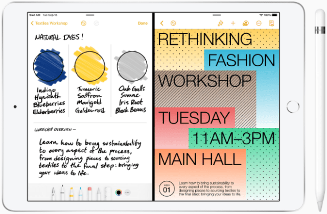 Scribble: iPadOS 14 further integrates Apple Pencil into the iPad experience for better note-taking capabilities and new ways to work with handwritten notes.