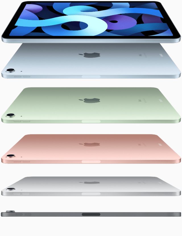 Apple today introduced the all-new iPad Air — the most powerful, versatile, and colorful iPad Air ever.