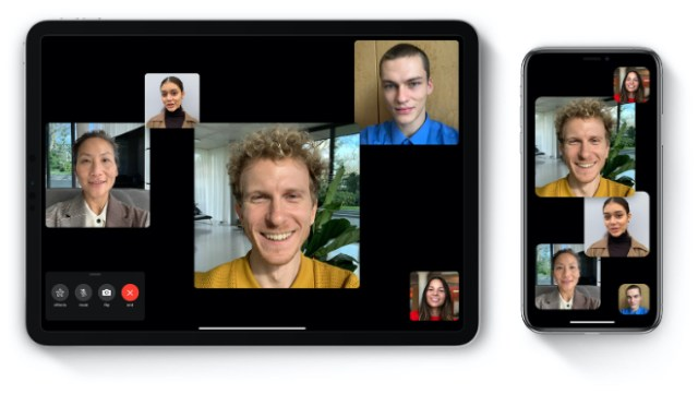 Apple's FaceTime on iPad and iPhone