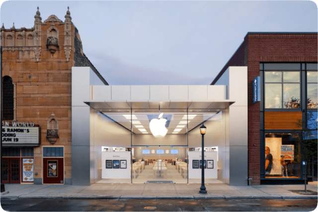 Apple Uptown in Minneapolis