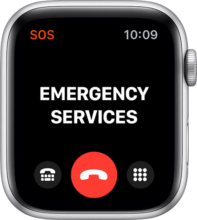With Emergency SOS on the Apple Watch, you can quickly and easily call for help and notify emergency contacts.