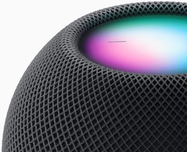 HomePod mini features the powerful intelligence of Siri to get things done.