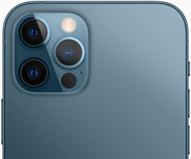 The Pro camera system on iPhone 12 Pro models includes new camcorders for even better performance in low light, an expansive Ultra Wide camera and a phone camera for capturing stunning photos and video.