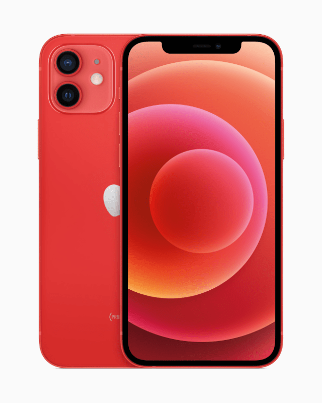 Proceeds from the purchase of an iPhone 12 (PRODUCT)RED will support the Global Fund's efforts to combat HIV/AIDS and COVID-19.