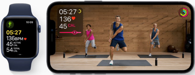 Apple Fitness+ is the first fitness experience built around Apple Watch