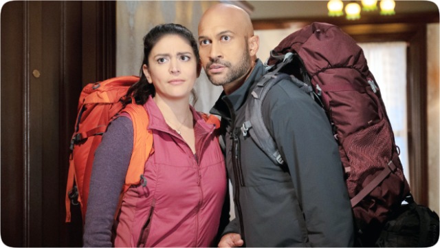 """Cecily Strong and Keegan-Michael Key star in """"Schmigadoon!,"""" premiering summer 2021 on Apple TV+."""