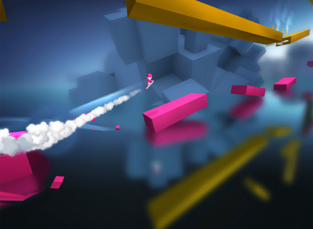 """""""Chameleon Run"""" from Noodlecake is a challenging auto runner with a colorful twist."""
