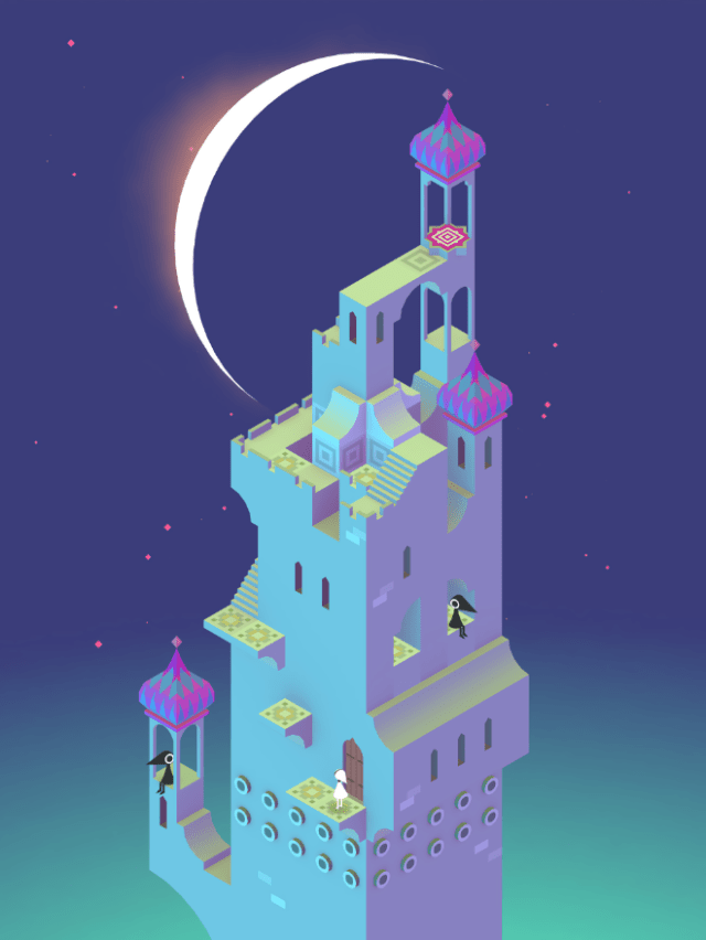 """The surreal exploration game """"Monument Valley"""" from ustwo games includes the expansions """"Forgotten Shores"""" and """"Ida's Dream."""""""