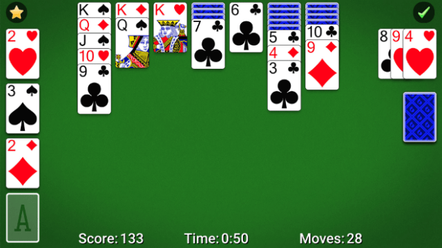 """MobilityWare brings new modern features to the classic solo card game in """"Solitaire by MobilityWare."""""""