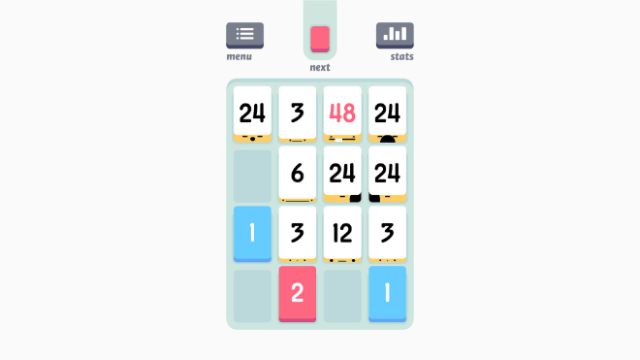 """Sirvo LLC's """"Threes!"""" is the tiny puzzle that grows on players."""