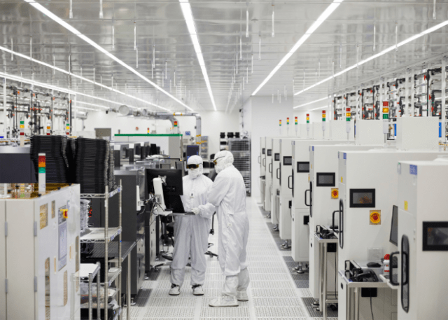 Apple has been working with II-VI's facility in Sherman, Texas, since 2017 to produce laser technology used in iPhone.