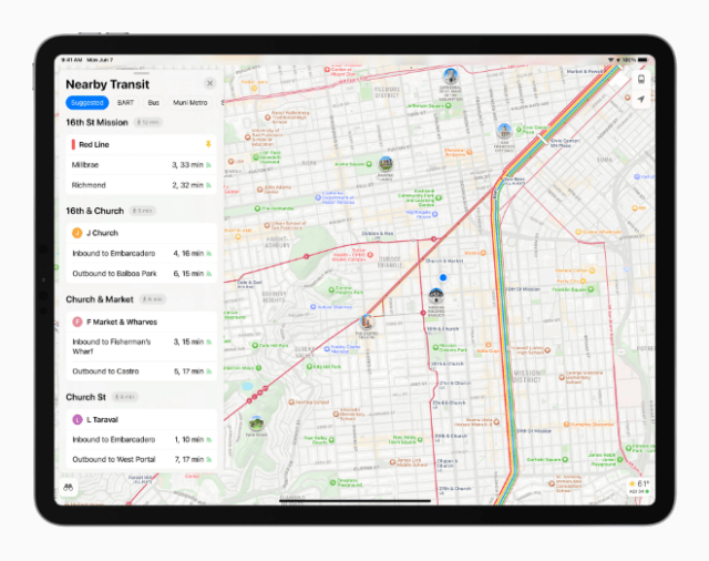Maps delivers new ways to navigate and explore the world.