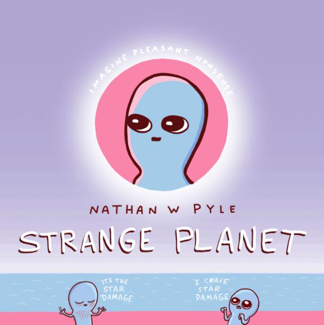 Apple TV+ inks deal for 'Strange Planet' animated series