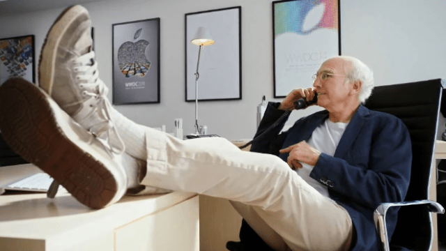 Larry David sends up App Store review process in unaired WWDC14 video