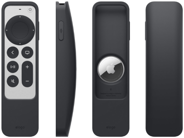 Never lose your Apple TV Siri Remote again with Elago's 'R5 Case' with AirTag slot