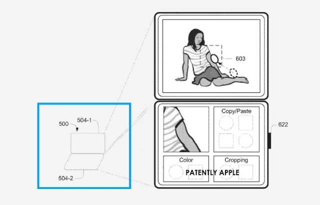 Apple granted U.S. patent for a dual display iPad