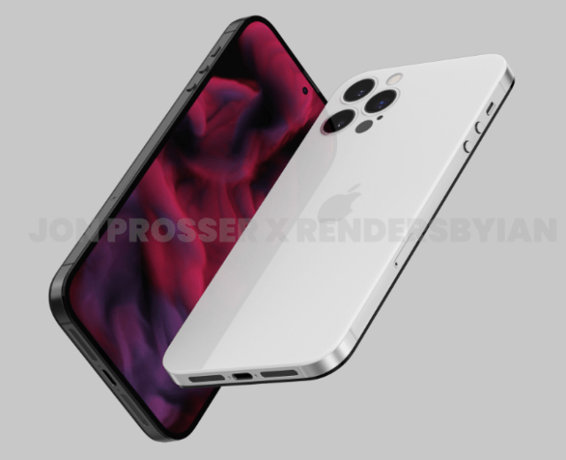 'iPhone 14' leak reveals iPhone 4-style design with hole-punch display, no camera bump, and more