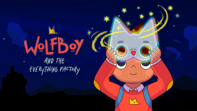 """""""Wolfboy and the Everything Factory"""" will premiere Friday, September 24, exclusively on Apple TV+."""