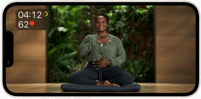 Apple Fitness+ introduces guided Meditation on September 27 to help users develop a regular meditation routine and improve their overall sense of well-being.