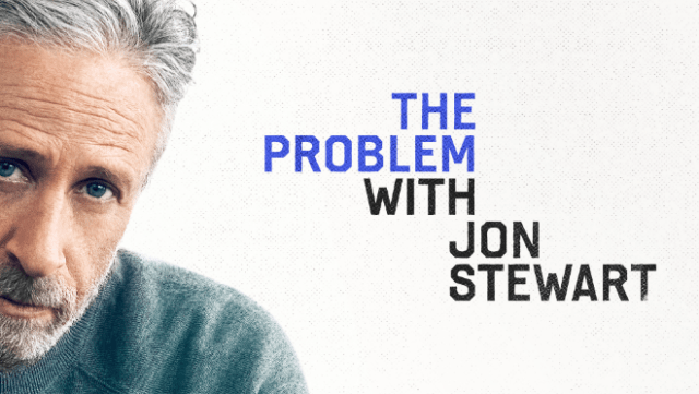 """""""The Problem With Jon Stewart"""" will debut globally Thursday, September 30, exclusively on Apple TV+."""