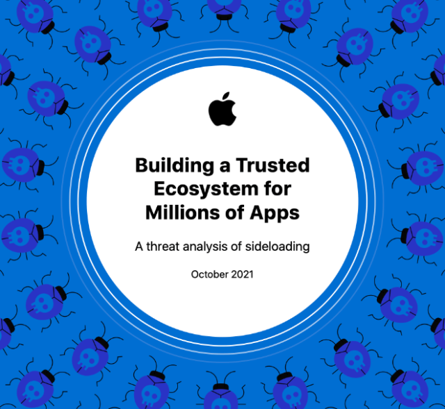 Apple: Building a Trusted Ecosystem for Millions of Apps: A threat analysis of sideloading