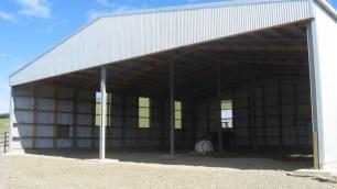 Large Steel Farm Building