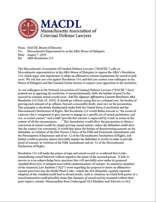 ABA Letter Image