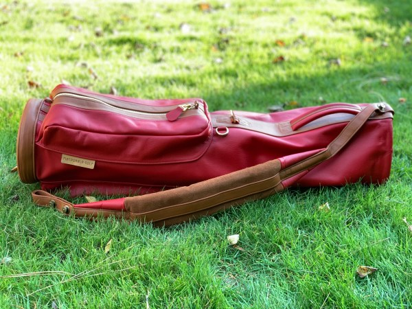Macdonald Classic in Red and Tan