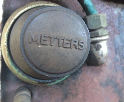 Metters Triumph Gas Range automatic oven heat controller