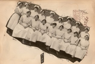 Class picture of the nurses more 1928