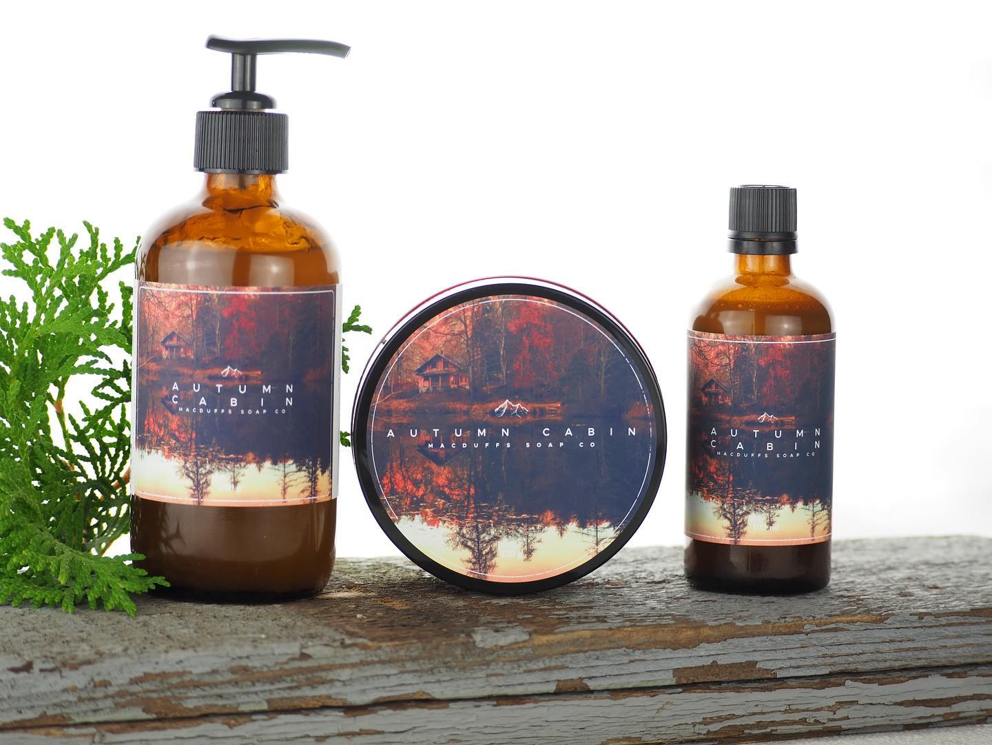 Shows our line up of soap