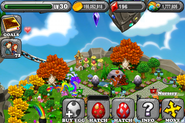 DragonVale Lava Dragon Egg