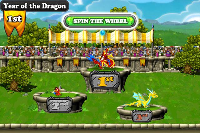 DragonVale Races