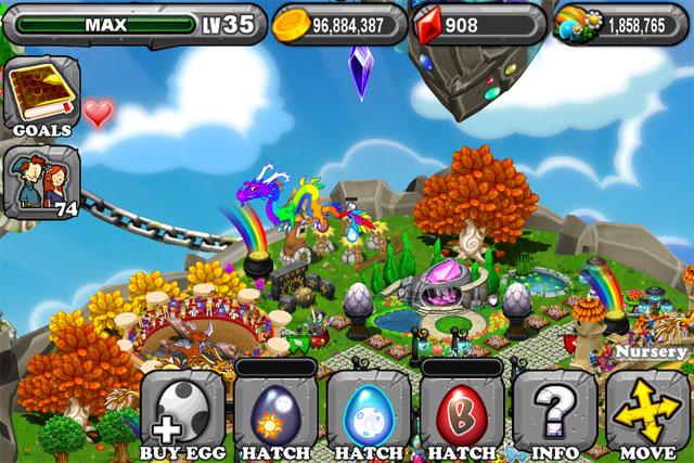 DragonVale Equinox Dragon Egg