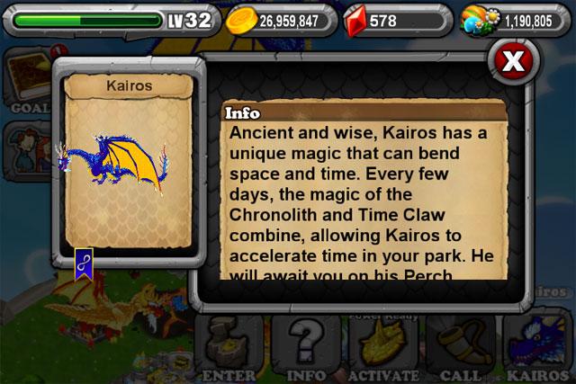Dragonvale How To Breed A Kairos Dragon