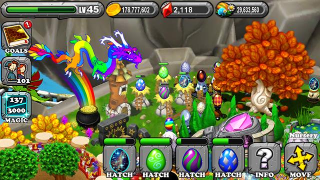DragonVale Rift Dragon Egg