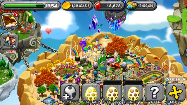 DragonVale Mirror Dragon Egg