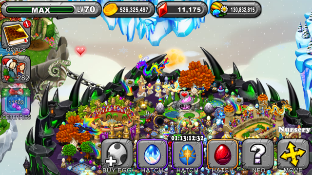 Dragonvale Verglace Dragon Egg