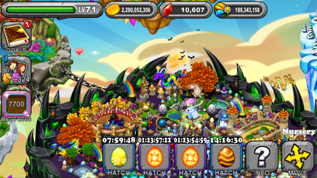 Dragonvale Tempest Dragon Egg