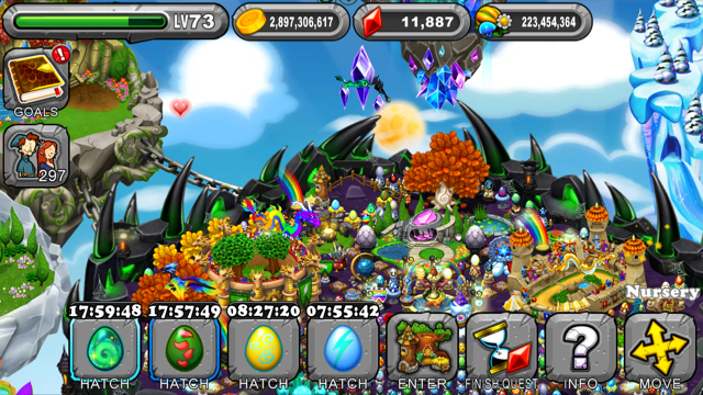 DragonVale: How to breed a Nebula Dragon