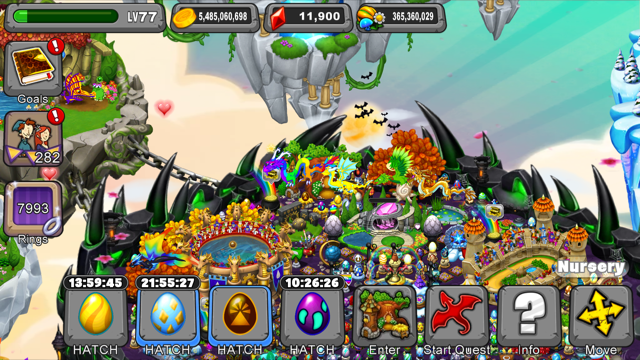 Dragonvale Ivy Dragon Egg
