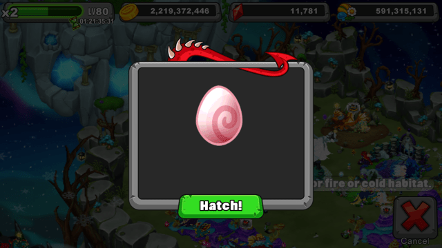 dragonvale trinket dragon egg
