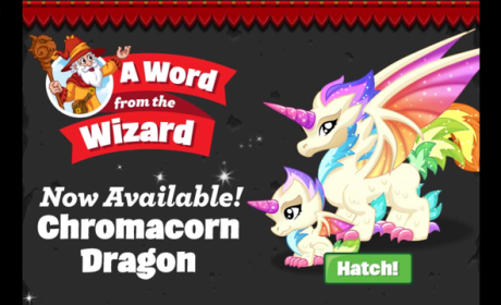 Dragonvale Chromacorn Dragon