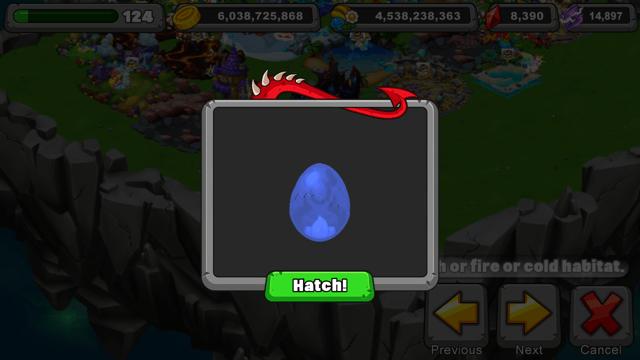 Dragonvale Ghostly Oni Dragon Egg