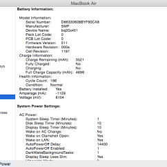 0 Amperage Macbook Battery 277v To 120v Transformer Wiring Diagram What Look For When Buying A Used Mac Computer Macenthusiasts 2