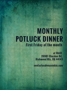 Monthly Halaqa Potluck @ MACE Islamic Center | Richmond Heights | Ohio | United States