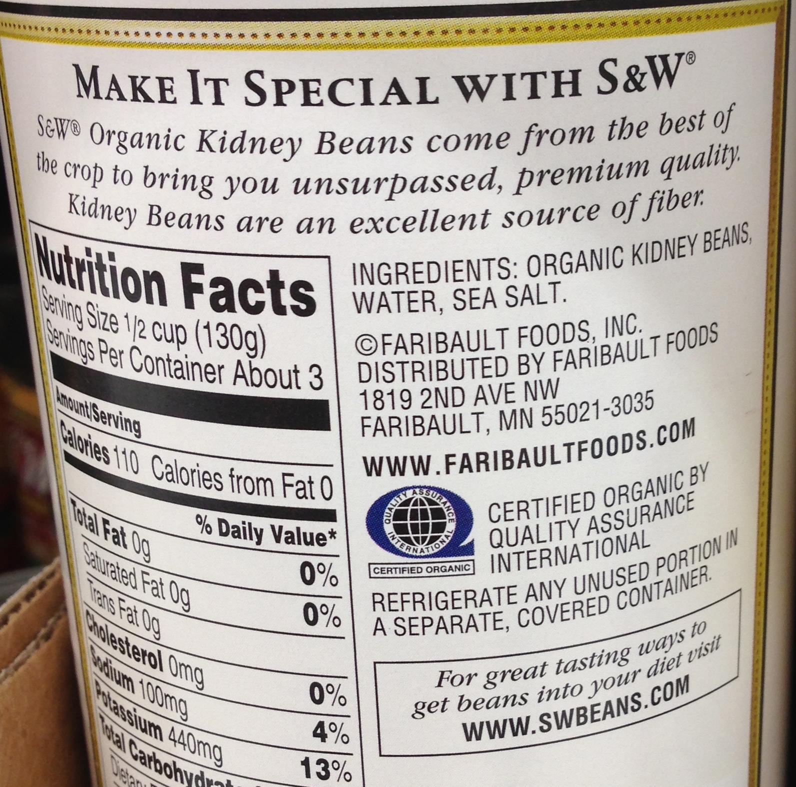 thai kitchen organic coconut milk drawers for cabinets nutrition facts besto blog