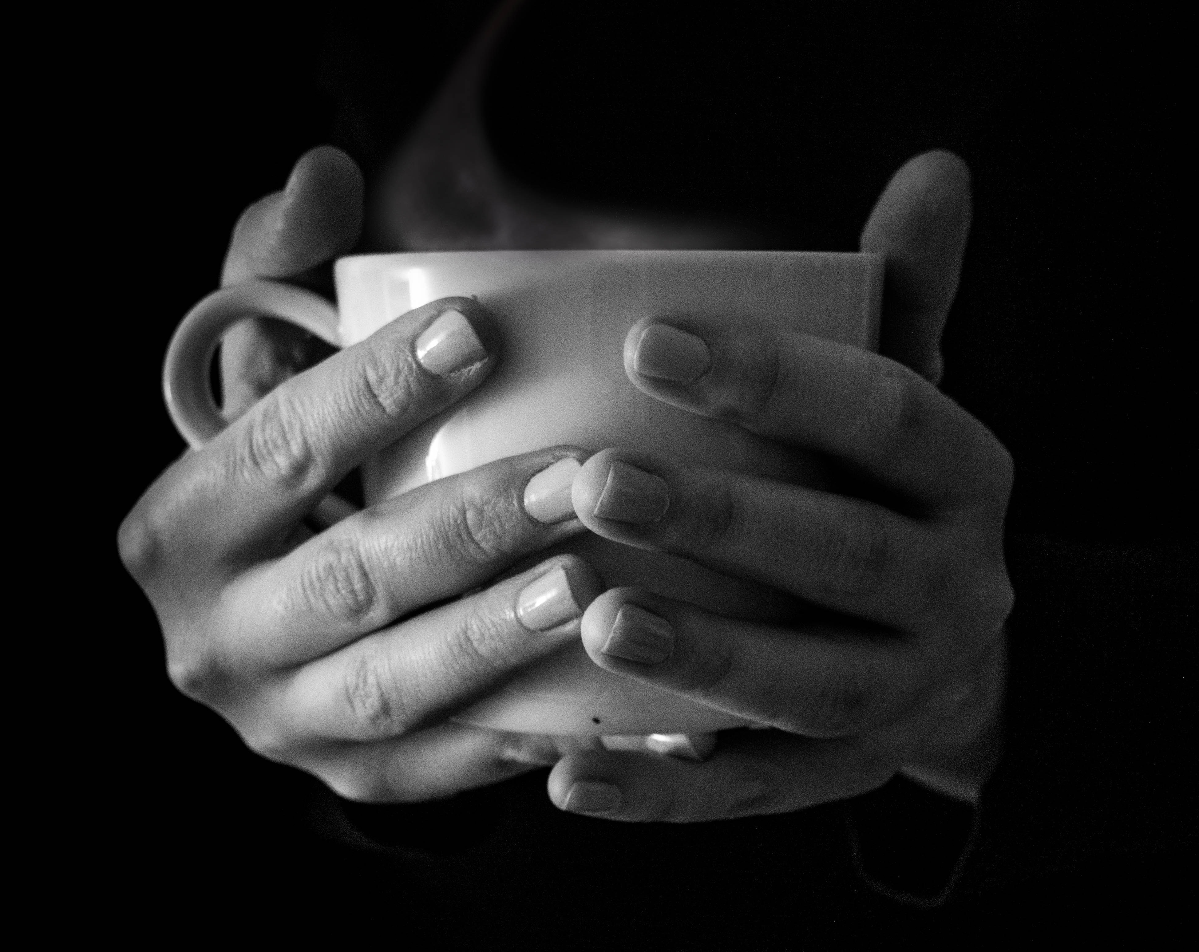 beverage black and white